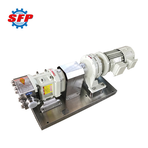 3RP Lobe Pump With Variable Frequency Motor
